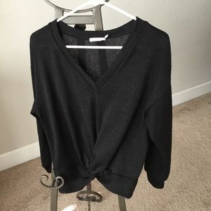 Lush V-neck sweater